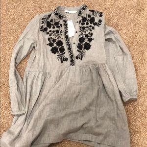 NWT Zara trafaluc dress size M.
